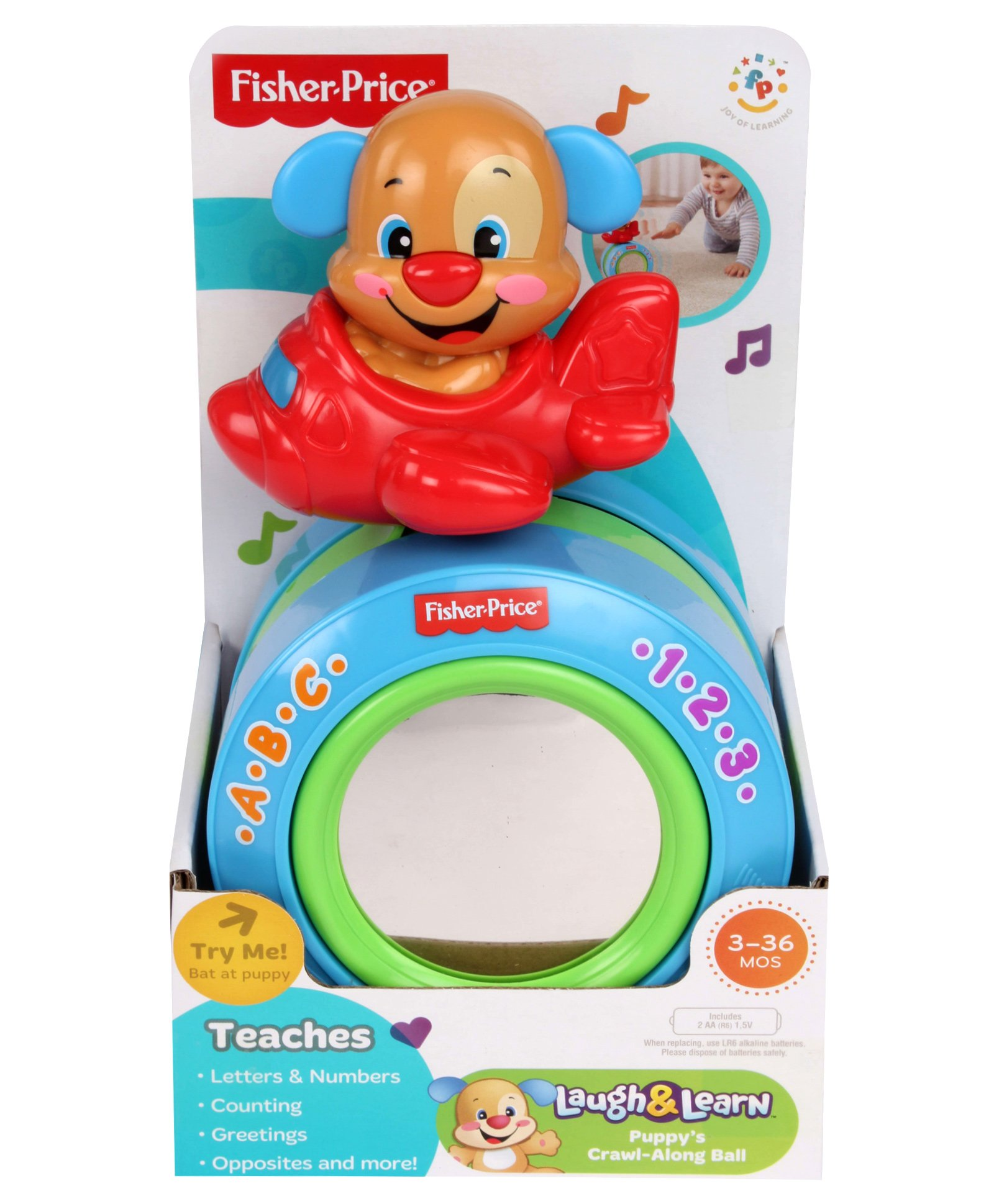 Kids Toys FISHER PRICE PUPPY S CRAL ALONG BALL
