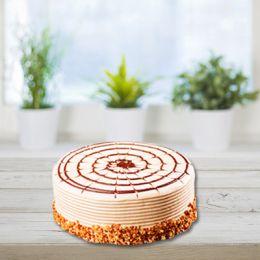 Butterscotch Eggless Cake