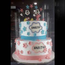 Delightful_Two tier cake_3kgs